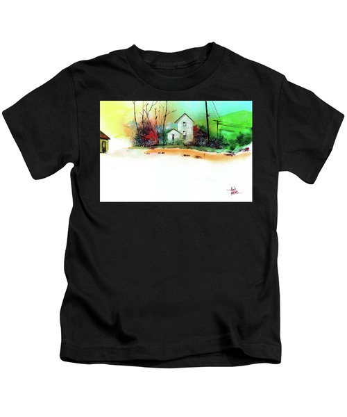 White Houses Kids T-Shirt