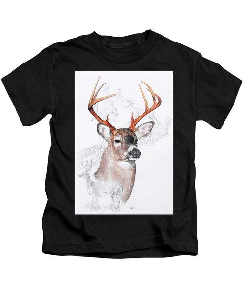 White-tailed Deer Kids T-Shirt