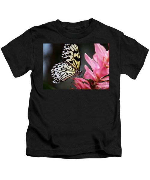 White Tree Nymph Kids T-Shirt