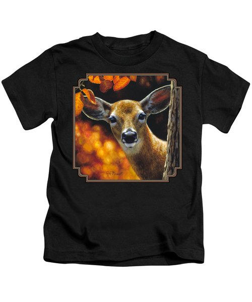 Whitetail Deer - Surprise Kids T-Shirt