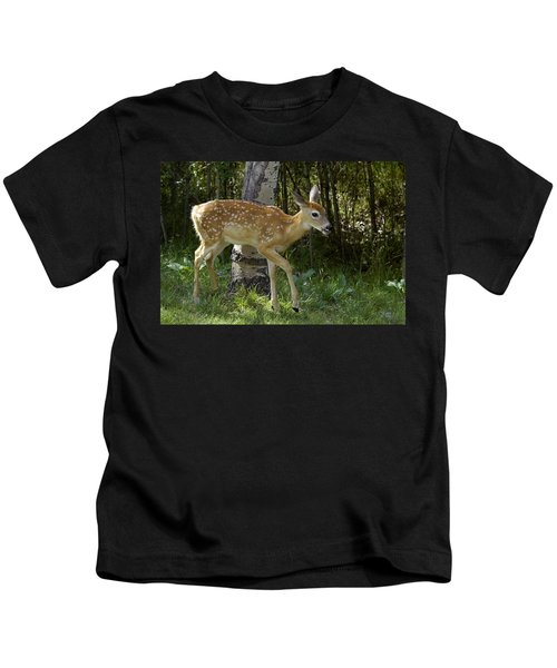Whitetail Fawn Kids T-Shirt