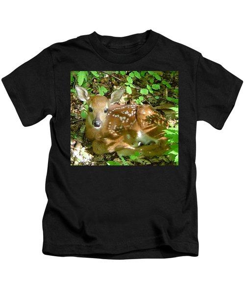 Whitetail Fawn II Kids T-Shirt