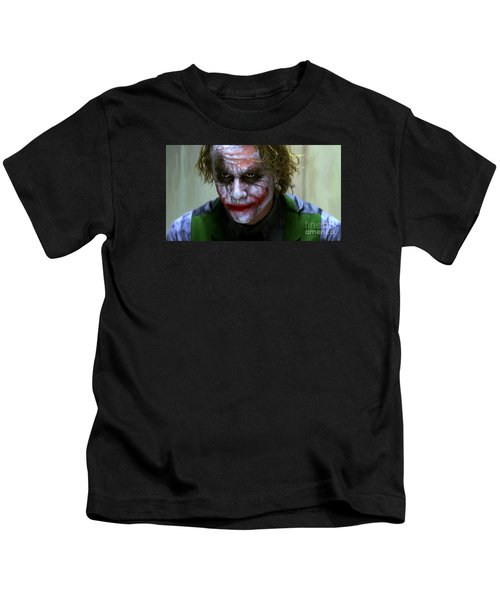 Why So Serious Kids T-Shirt by Paul Tagliamonte