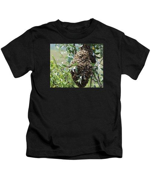 Wild Honey Bees Kids T-Shirt