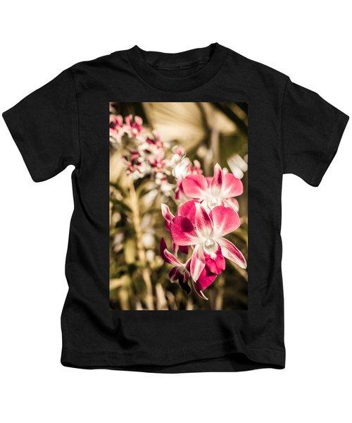 Wild Orchids Kids T-Shirt