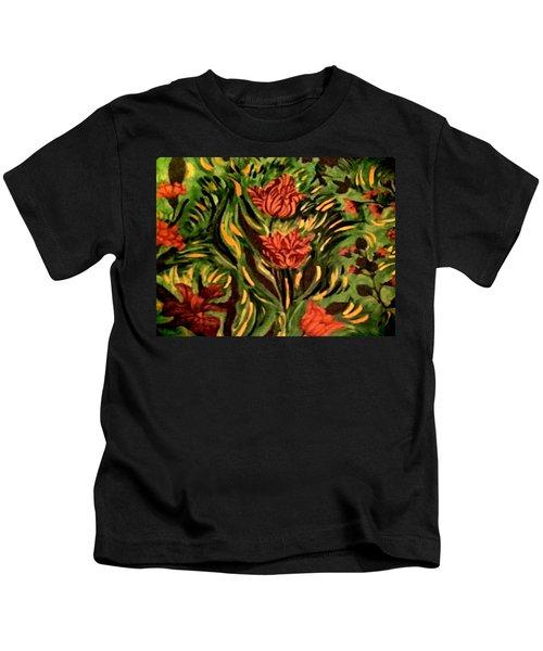 Wild Tulips Kids T-Shirt