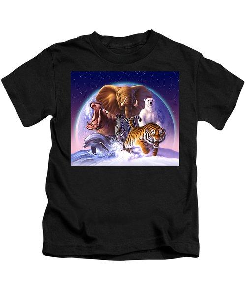 Wild World Kids T-Shirt by Jerry LoFaro