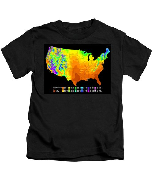 Wildfire Frequency Kids T-Shirt