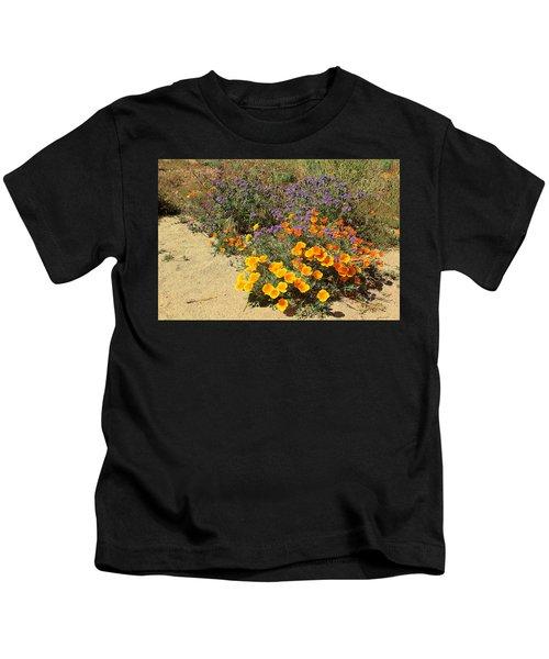 Wildflowers In Spring Kids T-Shirt