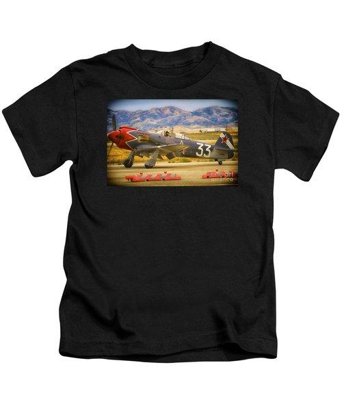 Will Whiteside And Yak Fighter 'steadfast' Kids T-Shirt