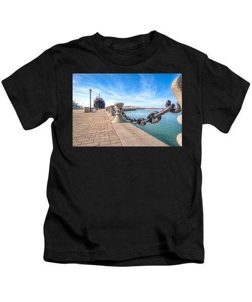 William G. Mather At Harbor Kids T-Shirt