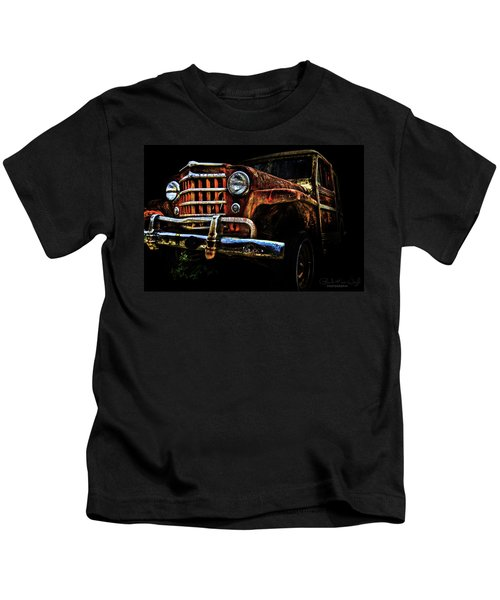 Willy's Station Wagon Kids T-Shirt