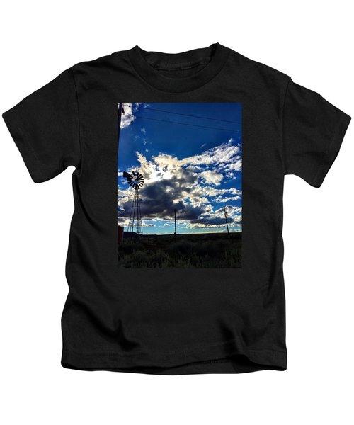 Windmill Lonely Kids T-Shirt