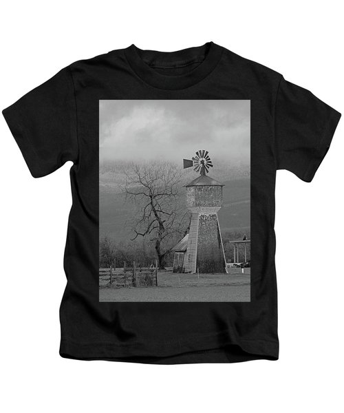 Windmill Of Old Kids T-Shirt