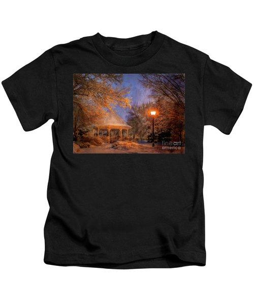 Windom Park Snowstorm Kids T-Shirt