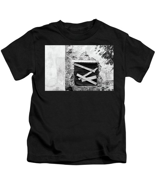 Window #2895 Kids T-Shirt