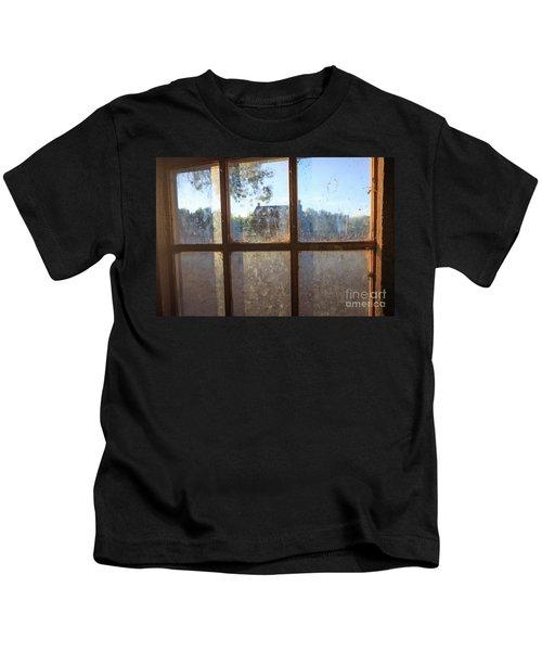 Window Grafton Ghost Town Kids T-Shirt