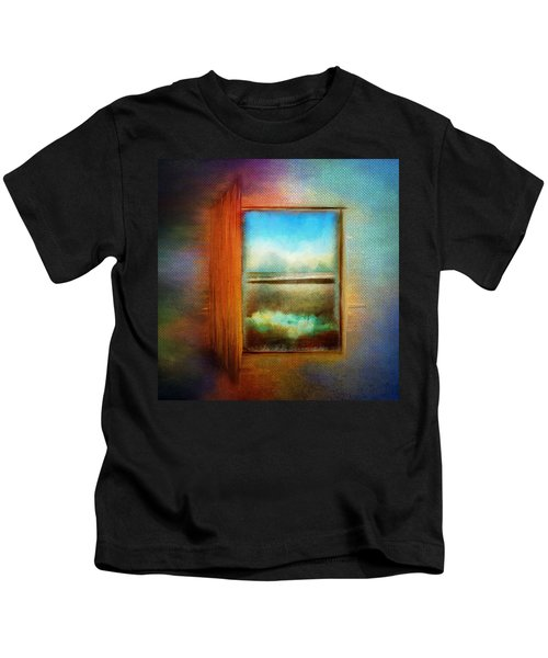 Window To Anywhere Kids T-Shirt