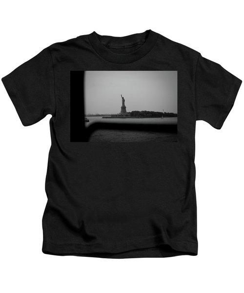Window To Liberty Kids T-Shirt