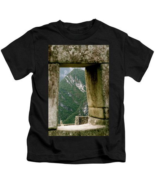 Window To The Gifts Of The Pachamama Kids T-Shirt