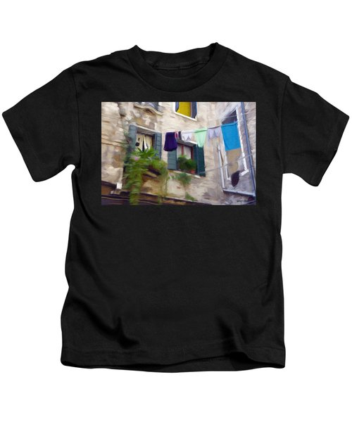 Windows Of Venice Kids T-Shirt
