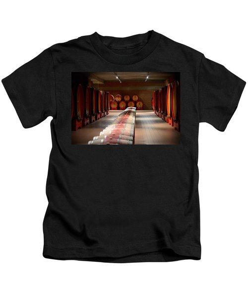 Wine Cellar In Montalcino Kids T-Shirt
