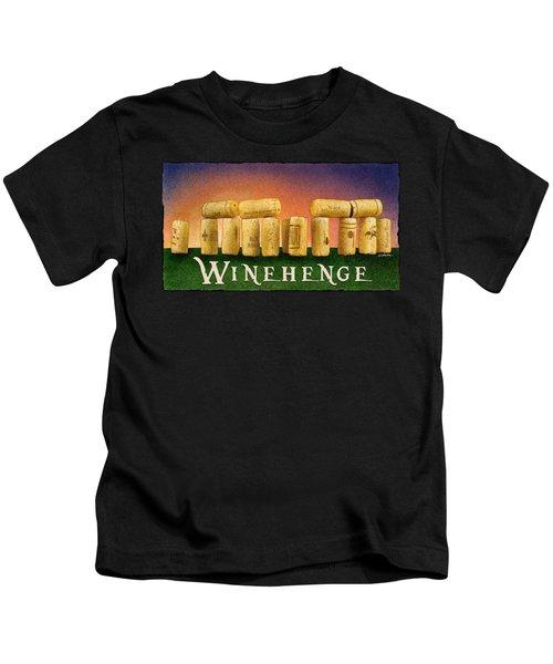 Winehenge Kids T-Shirt