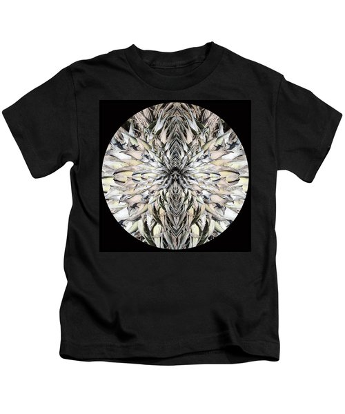 Winged Praying Figure Kaleidoscope Kids T-Shirt