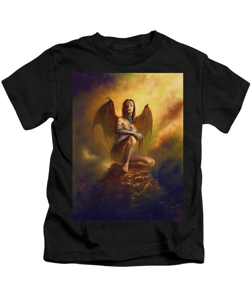 Winged Vamp Kids T-Shirt