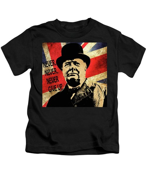 Winston Churchill 2 Kids T-Shirt