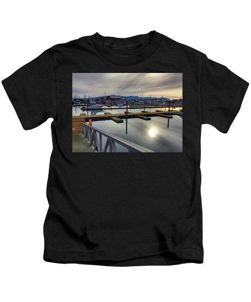 Winter Harbor Kids T-Shirt