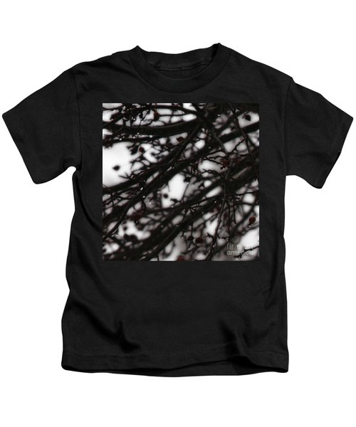 Winter Rain Kids T-Shirt