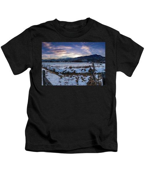 Sunset Range Kids T-Shirt