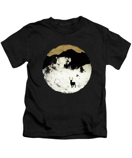 Winter Silence Kids T-Shirt