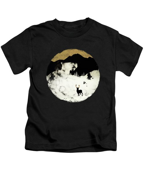 Winter Silence Kids T-Shirt