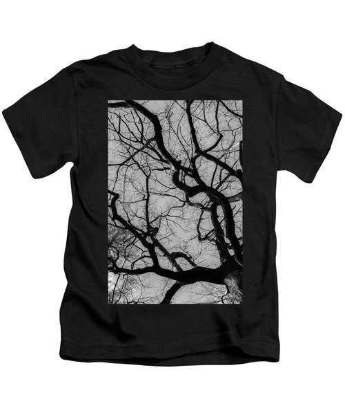 Winter Veins Kids T-Shirt