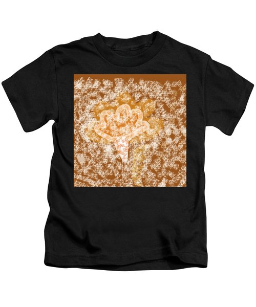 Winters Fall Kids T-Shirt