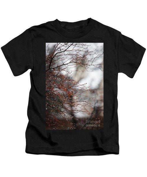 Wintry Mix Kids T-Shirt