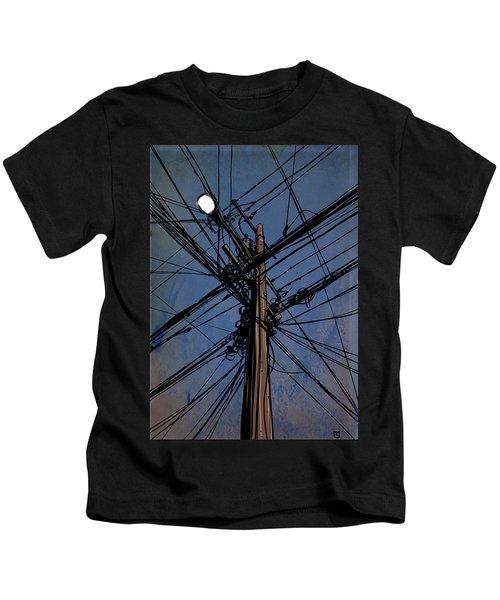Wires 02 Kids T-Shirt