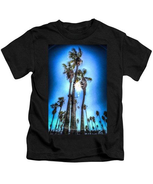 Wispy Palms Kids T-Shirt