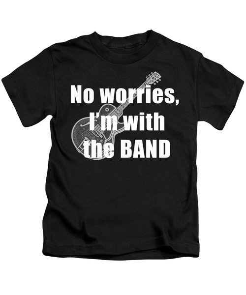 With The Band Tee Kids T-Shirt