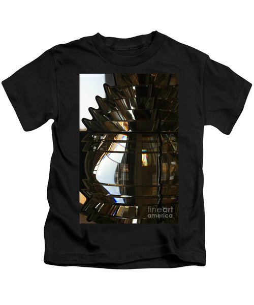 Within The Rings Of Lenses And Prisms Kids T-Shirt