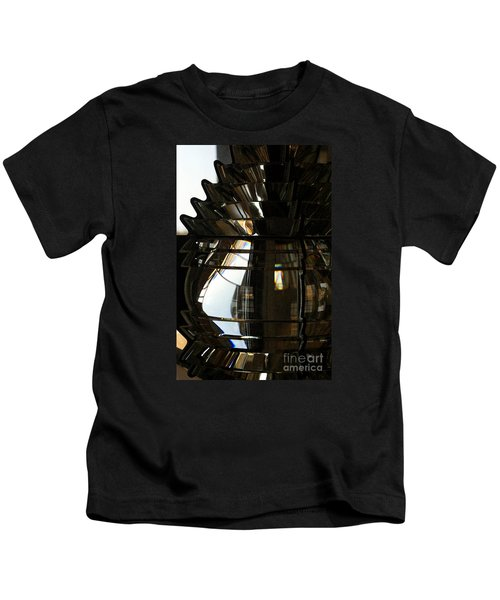 Within The Rings Of Lenses And Prisms - Water Color Kids T-Shirt