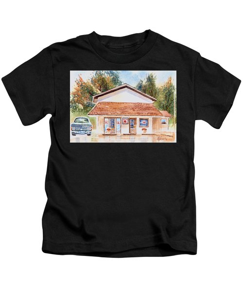 Woodcock Insurance In Watercolor  W406 Kids T-Shirt