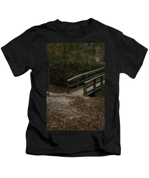 Wooden Bridge Kids T-Shirt