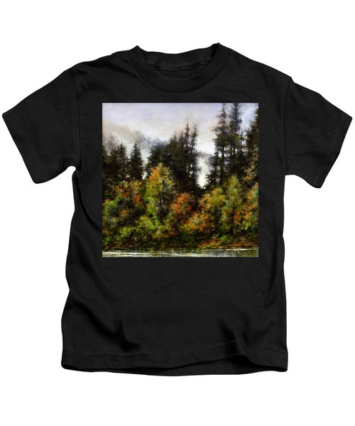 Woodland Bottoms In April Kids T-Shirt