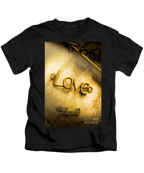 Words And Letters Of Love Kids T-Shirt