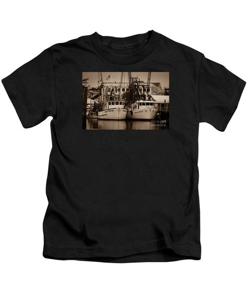 Working From The Creek Kids T-Shirt