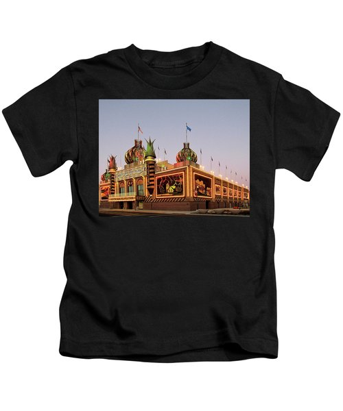 World's Only Corn Palace 2017-18 Kids T-Shirt