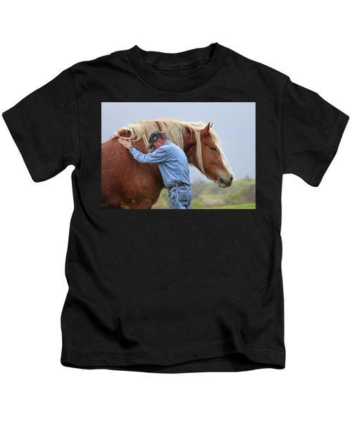Wrangler Jeans And Belgian Horse Kids T-Shirt